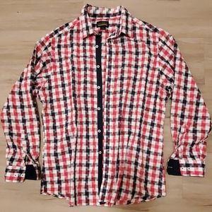 Mens XL Cremieux Long Sleeve Button Down Shirt